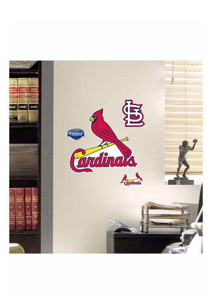 st louis cardinals teammate wall decal 9990021. Black Bedroom Furniture Sets. Home Design Ideas
