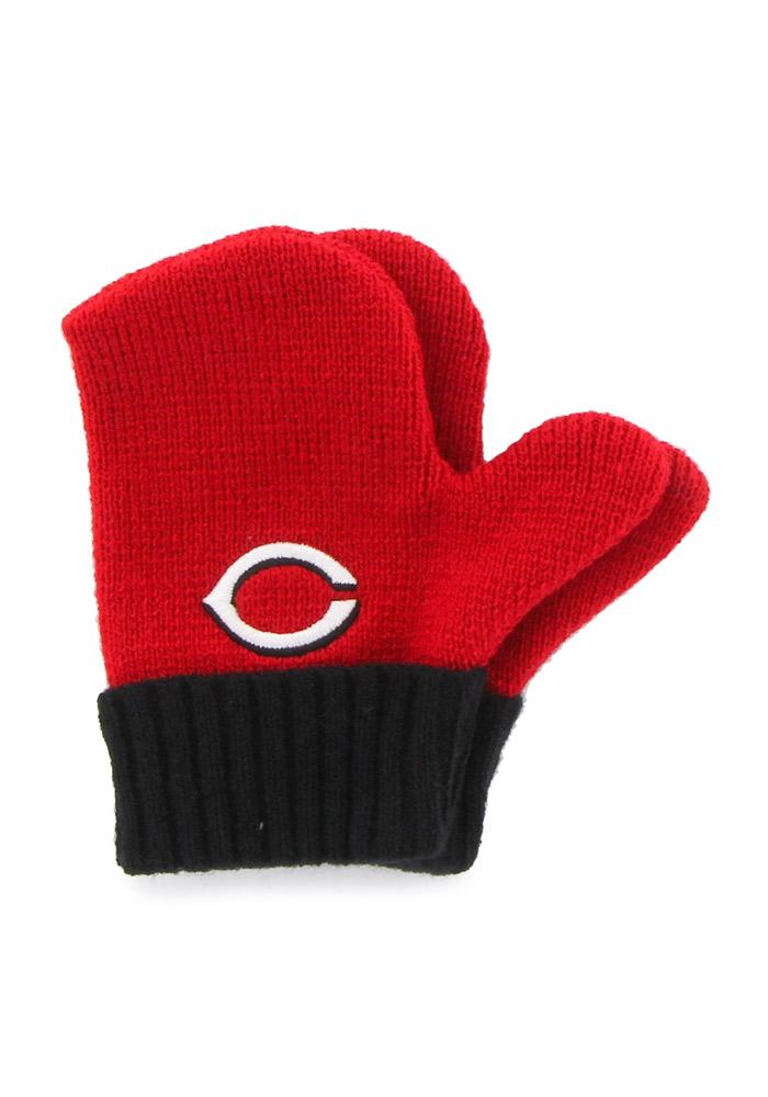 '47 Cincinnati Reds Bam Bam Set Baby Knit Hat - Red - Image 4