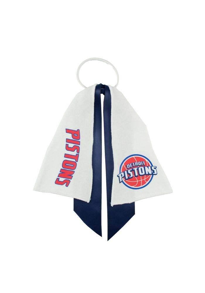 Detroit Pistons Ponytail Holders Youth Hair Scrunchie - Image 1