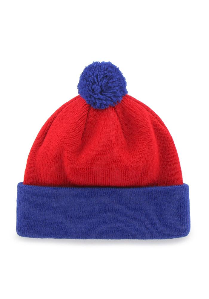 '47 Philadelphia Phillies Blue Bam Bam Baby Knit Hat - Image 4
