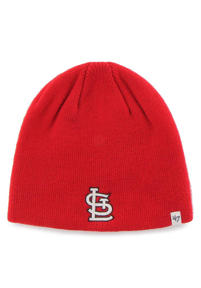 '47 St Louis Cardinals Red Beanie Mens Knit Hat - Image 1