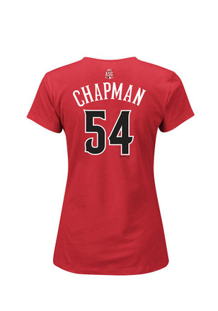 Aroldis Chapman Majestic 86th All-Star Game Womens red 2015 MLB All-Star Game Player Tee