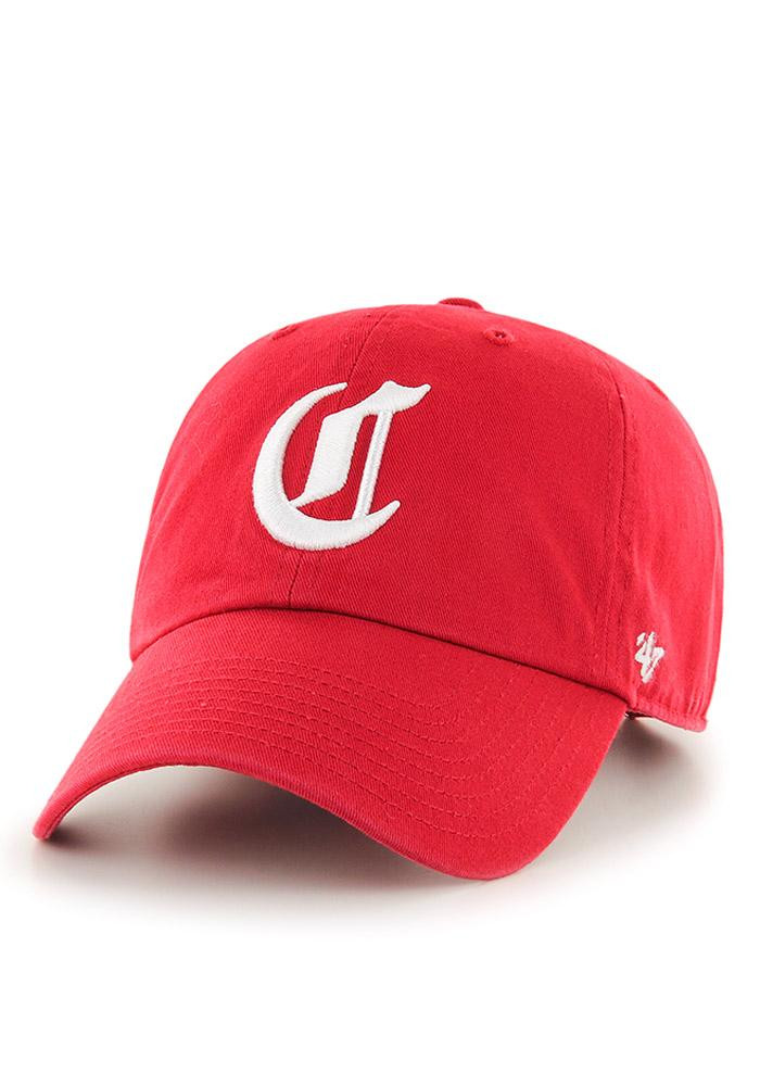 '47 Cincinnati Reds Mens Red Clean Up Adjustable Hat - Image 2