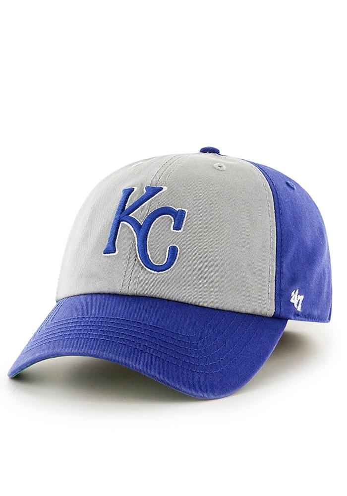 '47 Kansas City Royals Mens Blue `47 Franchise Fitted Hat - Image 2