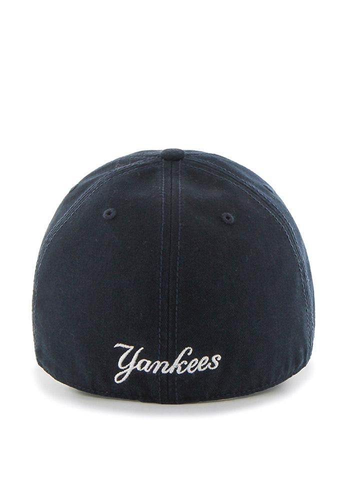 dea423f3ca562 47 New York Yankees Mens Navy Blue `47 Franchise Fitted Hat - 4805009