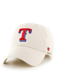 Texas Rangers 47 Clean Up Adjustable Hat - Natural