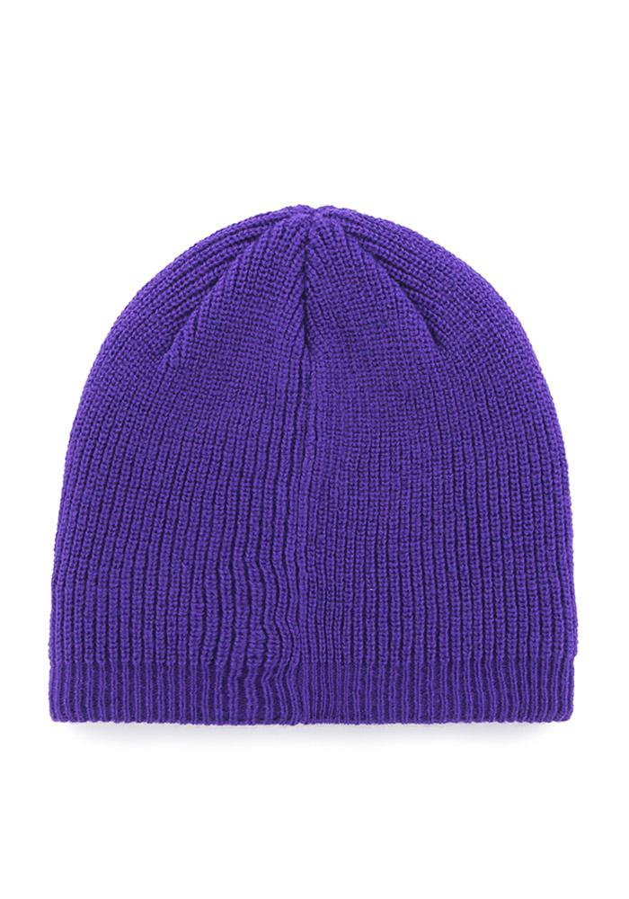 '47 K-State Wildcats Purple Sparkle Womens Knit Hat - Image 3
