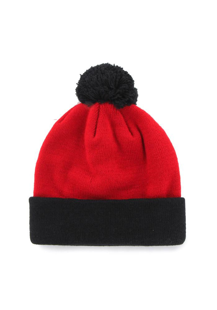 '47 Cincinnati Bearcats Red Bounder Cuff Mens Knit Hat - Image 2