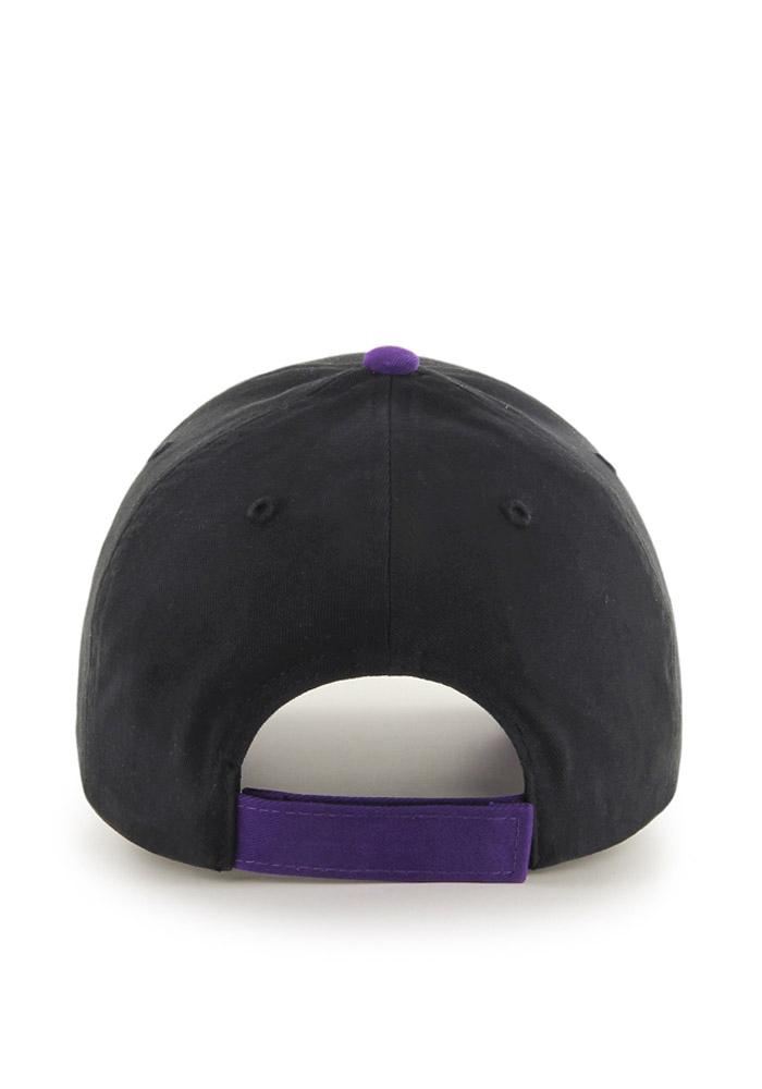47 K-State Wildcats Black Claws Youth Adjustable Hat - Image 2
