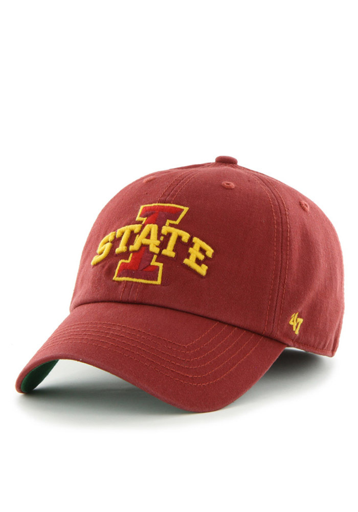 buy popular ed41d a5dab ... discount code for iowa state cyclones 47 cardinal 47 franchise fitted  hat 112c6 1361b