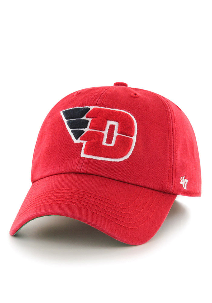 47 Dayton Flyers Mens Red `47 Franchise Fitted Hat - Image 1