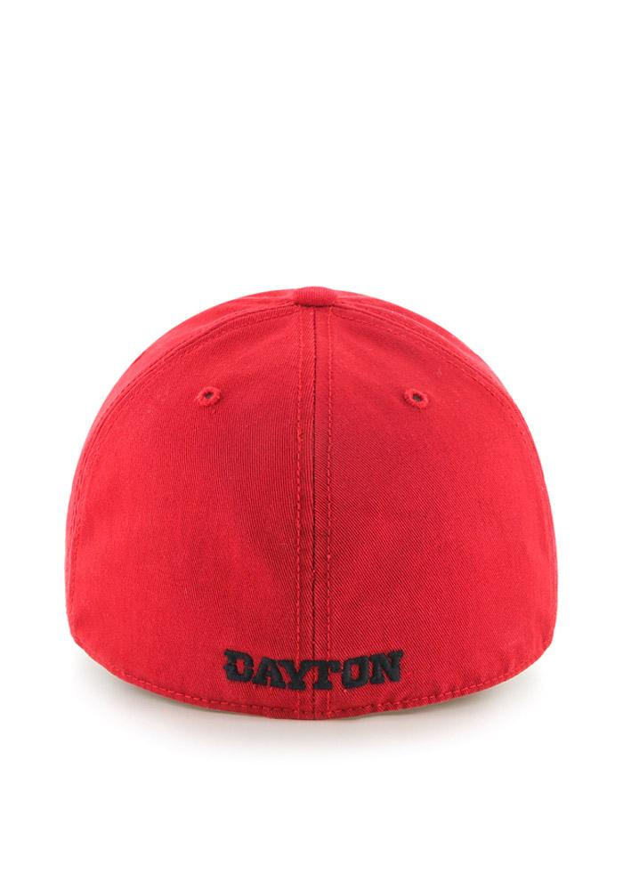 47 Dayton Flyers Mens Red `47 Franchise Fitted Hat - Image 2