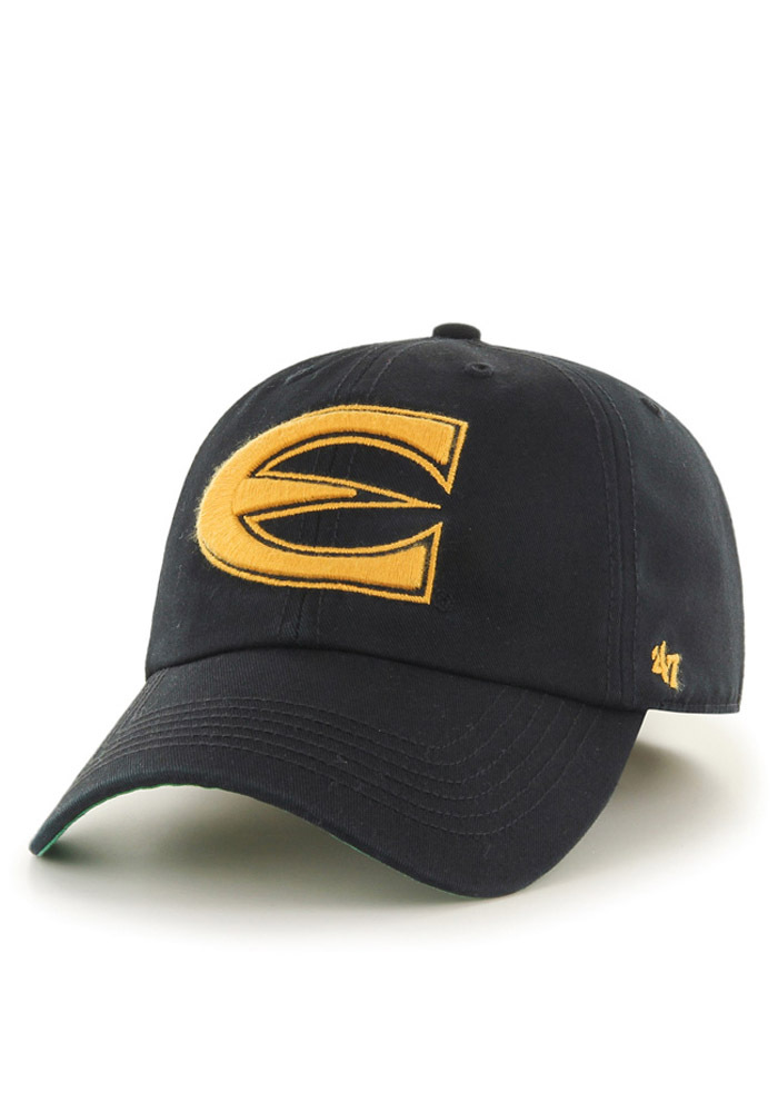 '47 Emporia State Hornets Mens Black `47 Franchise Fitted Hat - Image 1