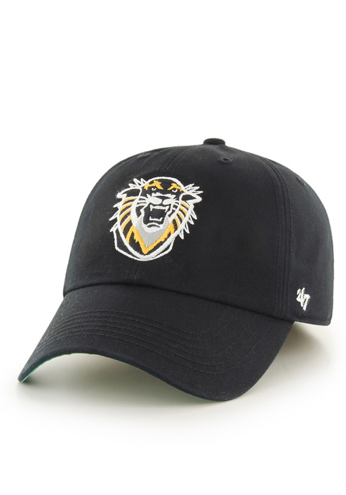 '47 Fort Hays State Tigers Mens Black `47 Franchise Fitted Hat - Image 1