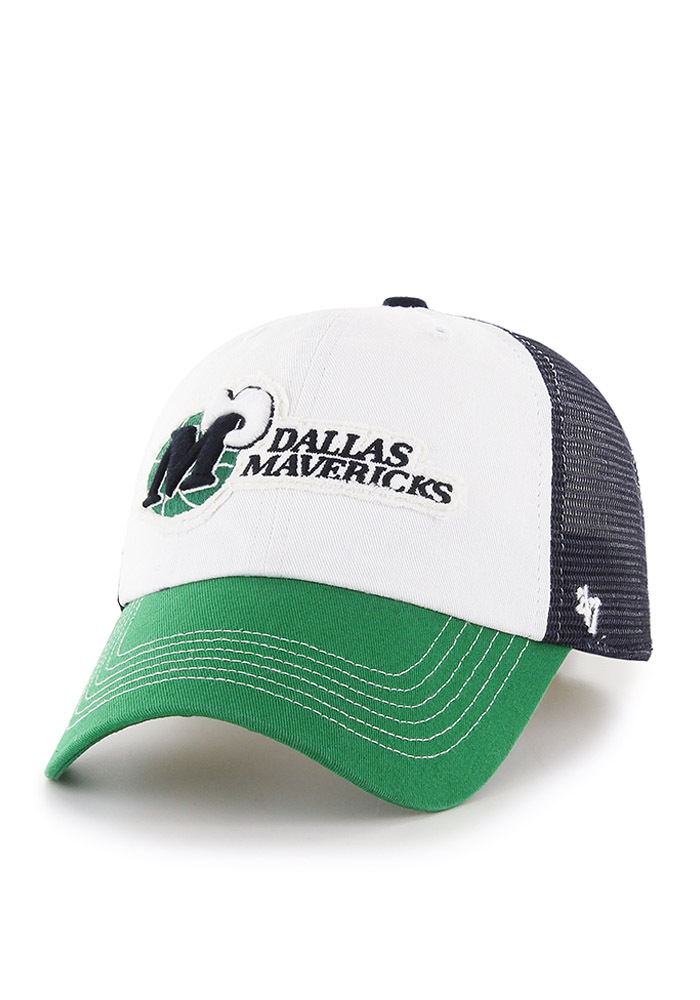 '47 Dallas Mavericks Mens Blue Privateer Flex Hat - Image 1