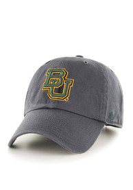 new styles 3b96c c08a3  47 Baylor Bears Clean Up Adjustable Hat - Grey