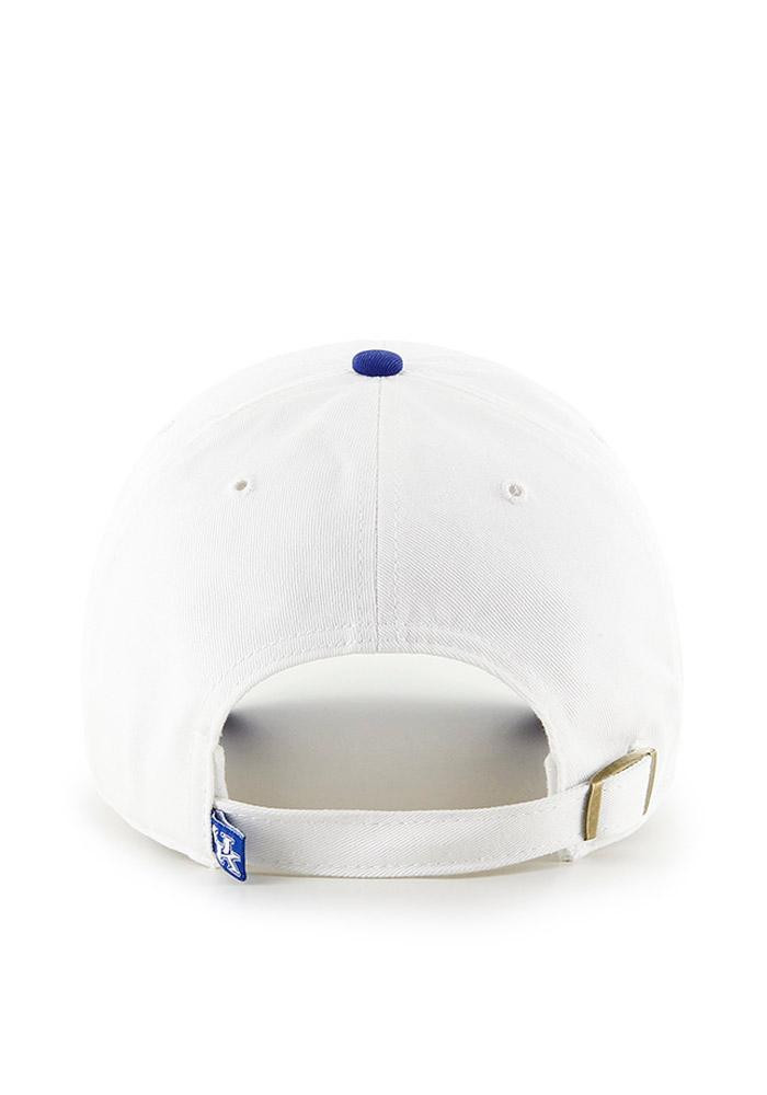 '47 Kentucky Wildcats Mens White Clean Up Adjustable Hat - Image 2