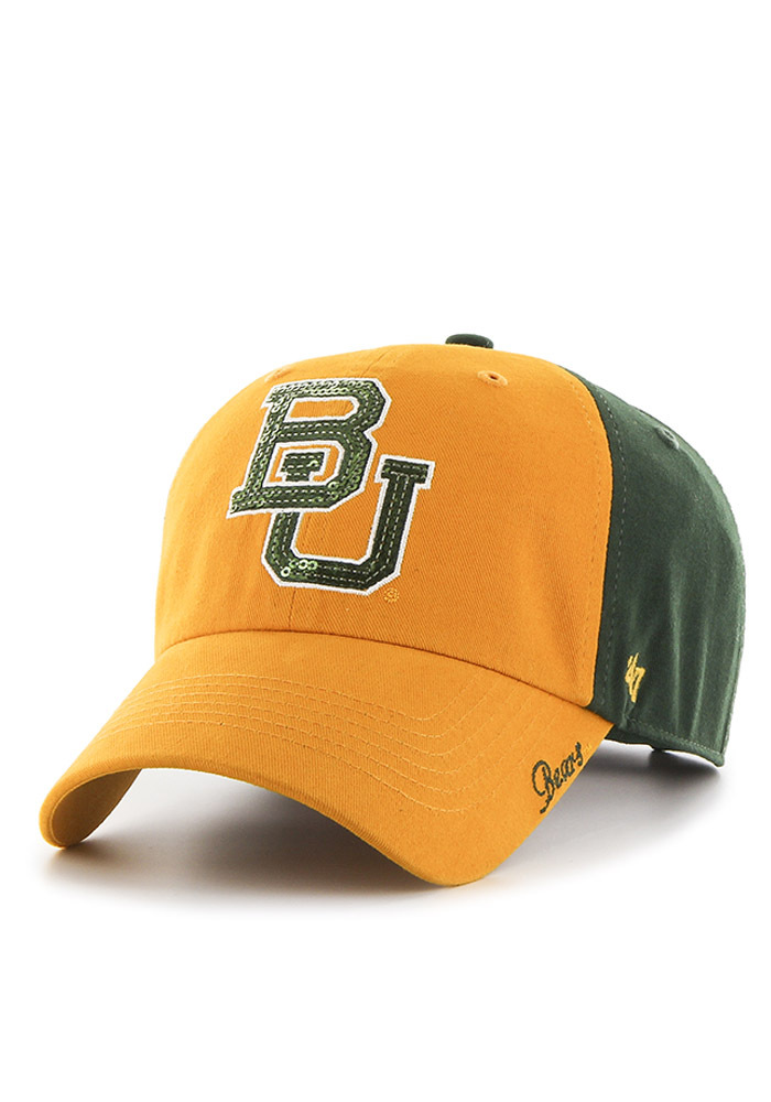 2e6660c9f  47 Baylor Bears Womens Green Two Tone Sparkle Adjustable Hat