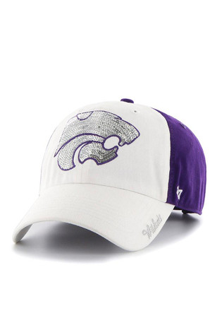 '47 K-State Wildcats Purple Two Tone Sparkle Adjustable Hat