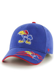 '47 Kansas Jayhawks Blue Claws Youth Adjustable Hat