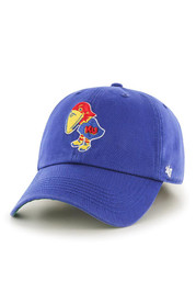 KU Jayhawks '47 Mens Blue 1923 `47 Franchise Fitted Hat