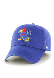 KU Jayhawks '47 Mens Blue 1929 `47 Franchise Fitted Hat