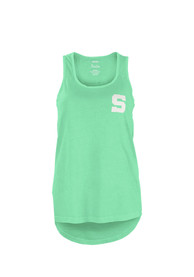 Penn State Nittany Lions Womens Paisley Frame Tank Top - Green