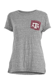 Texas A&M Aggies Womens Bandy Grey T-Shirt