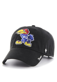 47 Kansas Jayhawks Womens Black 1941 Sparkle Adjustable Hat