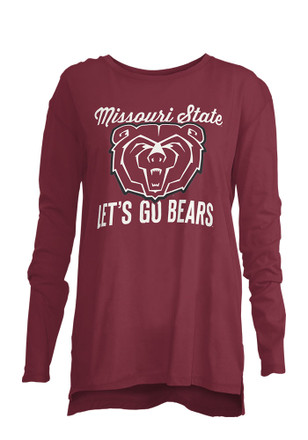 Mo State Womens Noelle Maroon T-Shirt
