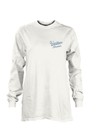 Washburn Womens Plato White LS Tee