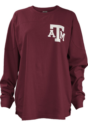 Texas A&M Womens Fight Song Maroon LS Tee