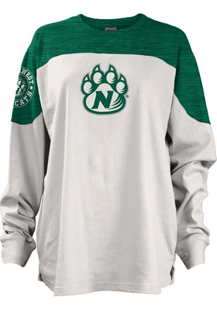 Northwest Missouri State Bearcats Womens Cannondale Green LS Tee