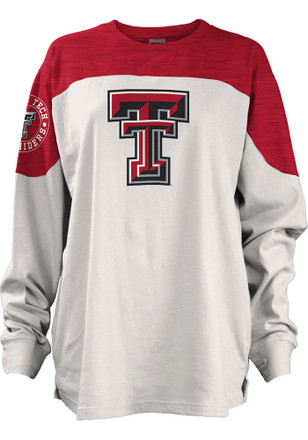 Texas Tech Red Raiders Womens Cannondale Red LS Tee