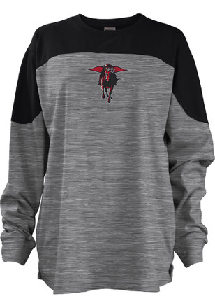 Texas Tech Red Raiders Womens Fieldman Black LS Tee