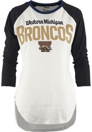Western Michigan Broncos Womens Quin Black T-Shirt