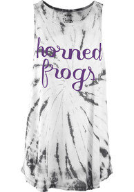 TCU Horned Frogs Womens Black Blaire Tank Top