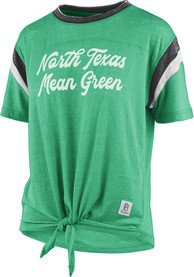 North Texas Mean Green Womens Vintage Juniper T-Shirt - Green
