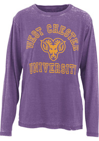 West Chester Golden Rams Womens Selena T-Shirt - Purple