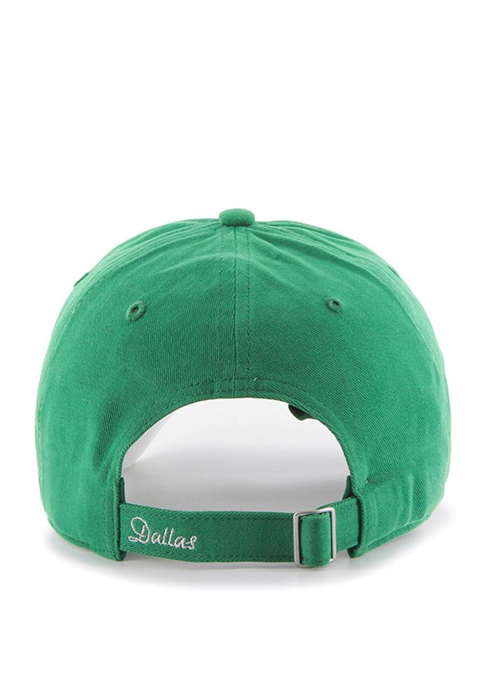 '47 Dallas Mavericks Green Two Tone Sparkle Womens Adjustable Hat - Image 2