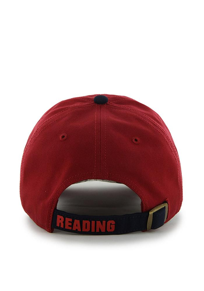 '47 Reading Fightin Phils Clean Up Adjustable Hat - Red - Image 2
