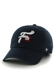Reading Fightin Phils 47 Navy Blue Franchise Fitted Hat