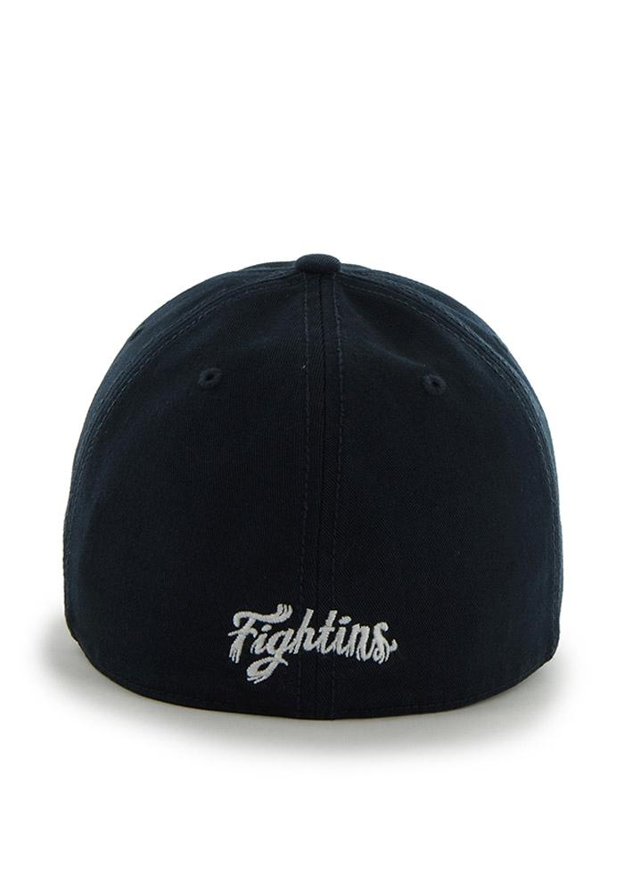 47 Reading Fightin Phils Mens Navy Blue Franchise Fitted Hat - Image 3