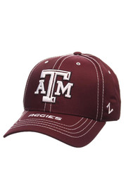 Zephyr Texas A&M Aggies Mens Maroon Goal Line Adjustable Hat