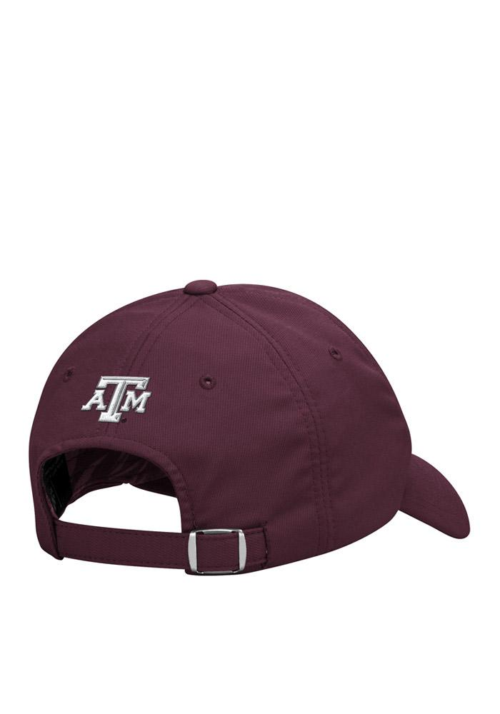 Adidas Texas A&M Aggies Sideline Slouch Adjustable Hat - Maroon - Image 3
