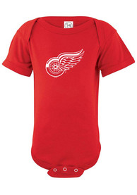 Detroit Red Wings Baby Red Logo One Piece