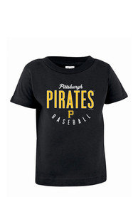 Pittsburgh Pirates Infant Jersey T-Shirt - Black