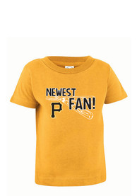 Pittsburgh Pirates Infant Jersey T-Shirt - Gold
