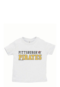 Pittsburgh Pirates Infant Jersey T-Shirt - White