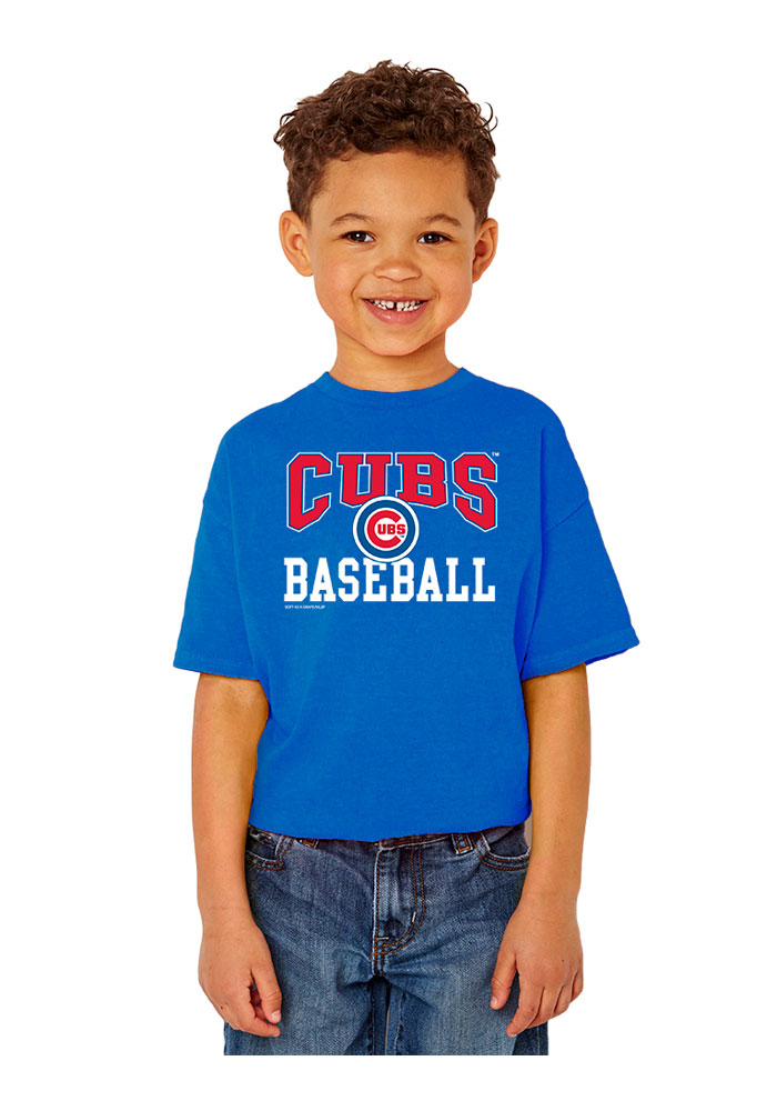 Chicago Cubs Youth Blue Basic T-Shirt